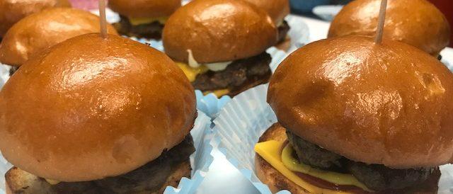 five points burgers minis